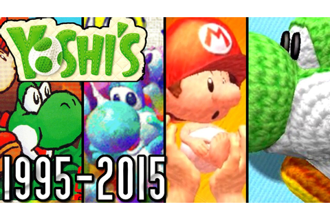 Yoshi ALL GAME INTROS 1995-2015 (Wii U, 3DS, DS, GBA, N64 ...