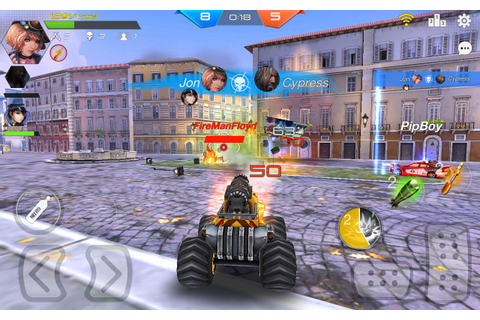 Overload - Multiplayer Cars Battle Shooting Firing APK ...