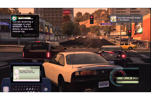 Midnight Club Los Angeles Playthrough Part 1 - YouTube