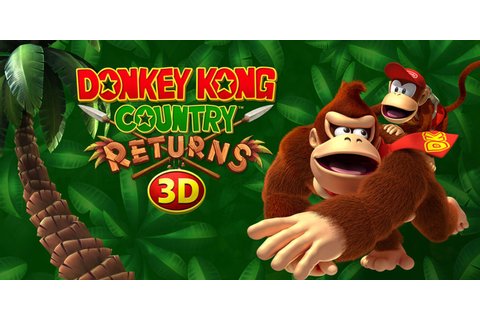 Donkey Kong Country Returns 3D | Nintendo 3DS | Games ...