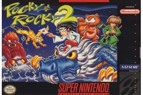 Pocky and Rocky 2 (SNES) on Collectorz.com Core Games