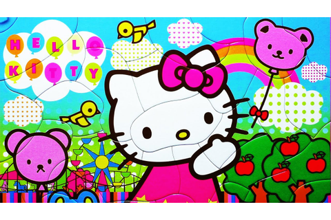 Puzzle Games HELLO KITTY Jigsaw Puzzles Rompecabezas Kids ...