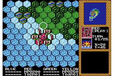 Master of Monsters (USA) ROM