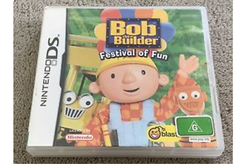 Bob the Builder Festival of Fun Nintendo DS game | eBay