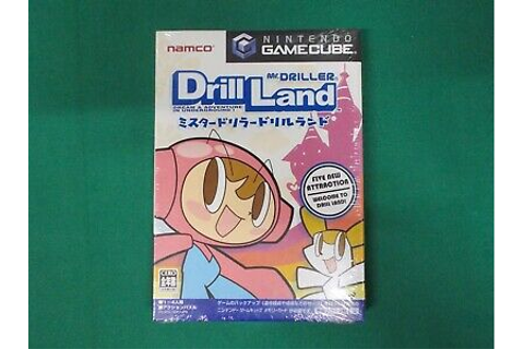 Game Cube -- Mr.DRILLER DRILL LAND -- New! Nintendo GC ...