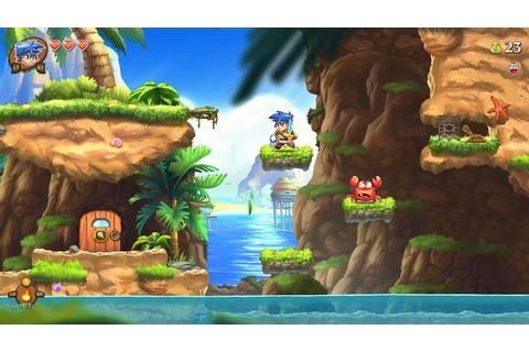 Monster Boy and the Cursed Kingdom Vorschau – gamescom ...