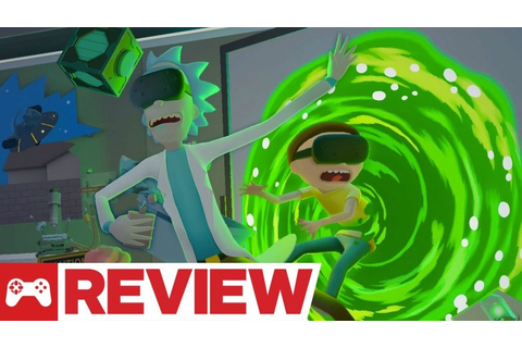 Rick and Morty: Virtual Rick-ality Review | Artistry in Games