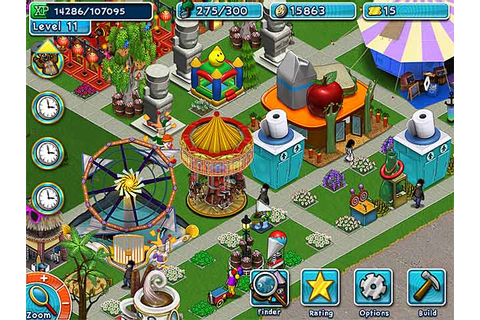 Golden Ticket: An Amusement Park Sim Game > iPad, iPhone ...