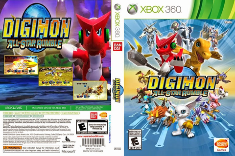 Digimon All-Star Rumble (2014) Xbox 360 ~ Giga In Games