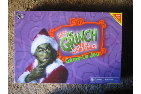 Dr. Seuss' How The Grinch Stole Christmas Game: Movie ...