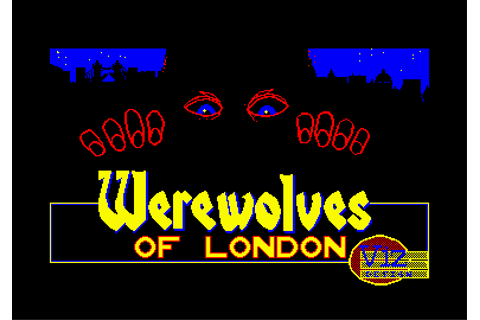 Download Werewolves of London (Amstrad CPC) - My Abandonware
