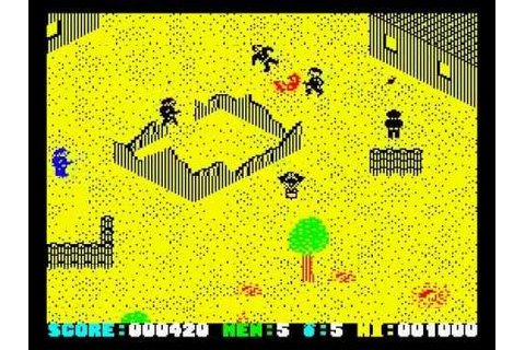 Who Dares Wins II Walkthrough, ZX Spectrum - YouTube