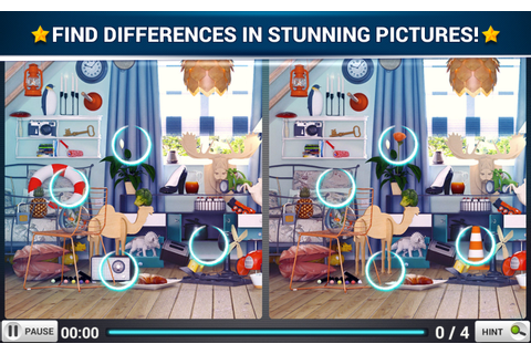 Find the Difference Rooms - Midva Games