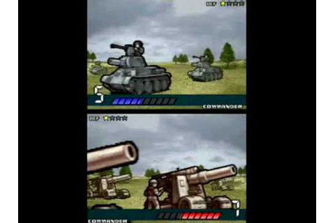 Advance Wars Dark Conflict Trailer DS - YouTube