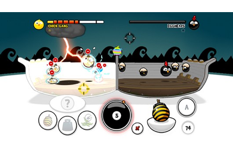 Flash game Chick Chick Boom finally headed to WiiWare
