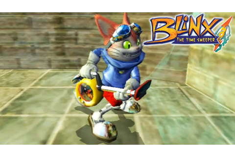 Blinx: The Time Sweeper - Gameplay Xbox (Release Date 2002 ...