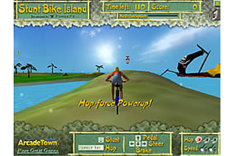 Stunt Bike Island Game - Play online at Y8.com