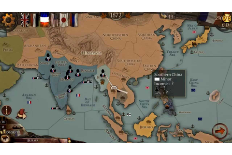 Colonial Conquest Gameplay Review - YouTube