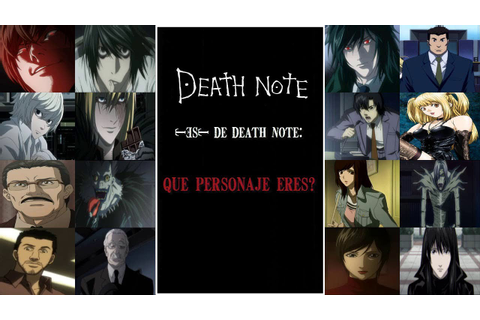 Pc Game (Death Note): Test Of Character That I Have You ...