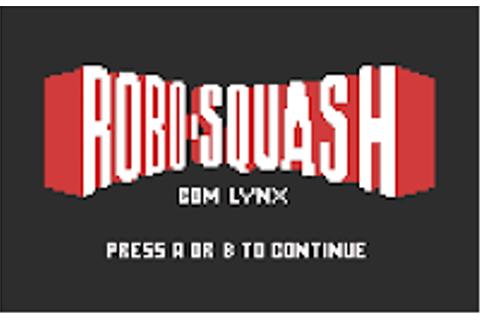 Robo-Squash - Atari Lynx Game Review | Atari Gamer