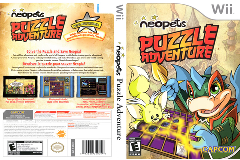 Games Covers: Neopets Puzzle Adventure - Wii