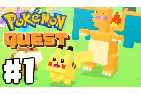 New FREE Mobile Pokemon Game! Pokemon Quest Gameplay ...