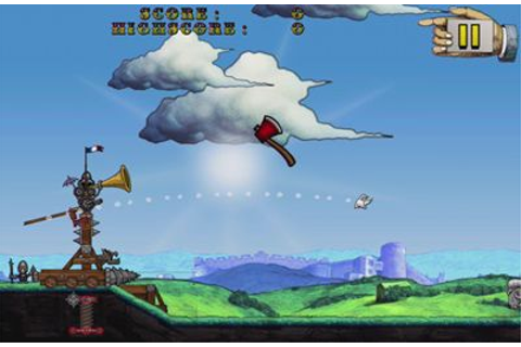 Monty Python's Cow Tossing iPhone game - free. Download ...