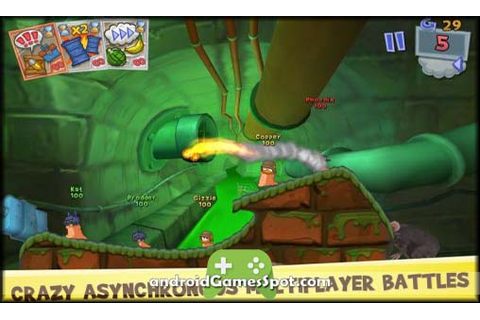 Worms 3 android game free download