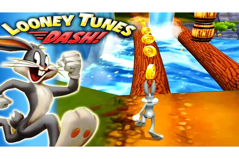 Looney Tunes Dash Gameplay : Bugs Bunny and his cartoon ...