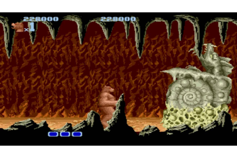 Altered Beast (GEN) Level 3 - YouTube