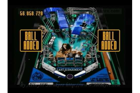 T-18901G - Digital Pinball Last Gladiators JPN Sega Saturn ...