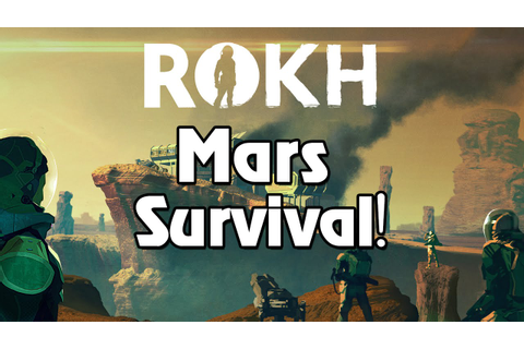 Rokh | A Survival Game Set on Mars?! - YouTube