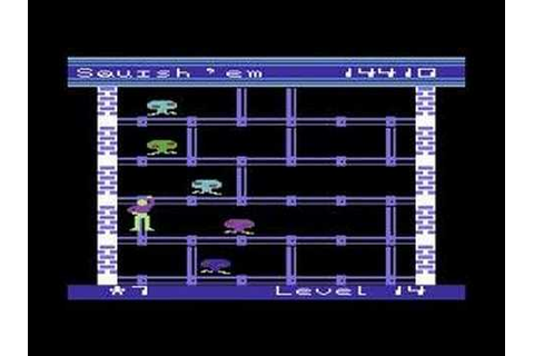 C64 Longplay - Squish'em - YouTube
