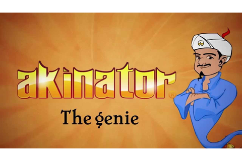 Akinator The Web Genie: HOW IS HE DOING THIS?!?! - YouTube
