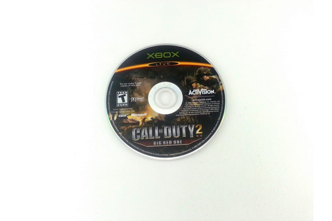 Call of Duty 2 Big Red One game for Xbox (Loose) | The ...