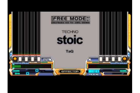 beatmania IIDX 7th style - stoic (SPA) - YouTube