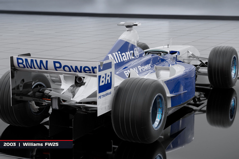 2003 Williams FW25 at F1 2018 video game