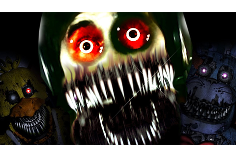 Five Nights at Freddy's 4 Reaction Compilation - YouTube