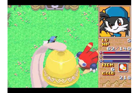 Klonoa Heroes - Densetsu no Star Medal (GBA) Gameplay Part ...