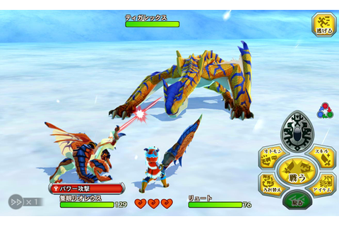 Capcom's 3DS title 'Monster Hunter Stories' has launched ...