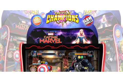 Marvel's Contest of Champions Arcade Game Announced | CBR