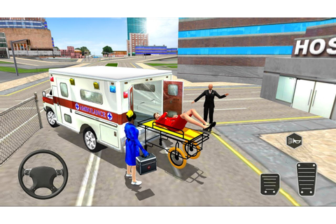 Ambulance City Rescue Emergency Driving Game Source Code ...