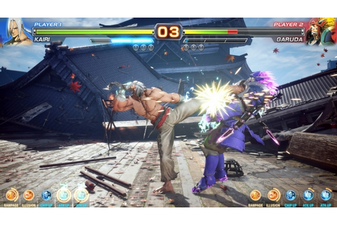 "50 minutes of Arika's ""Mysterious Fighting Game"" gameplay ..."
