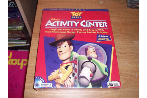 Disney's Toy Story Activity Center For Kids Games (WIN/MAC ...