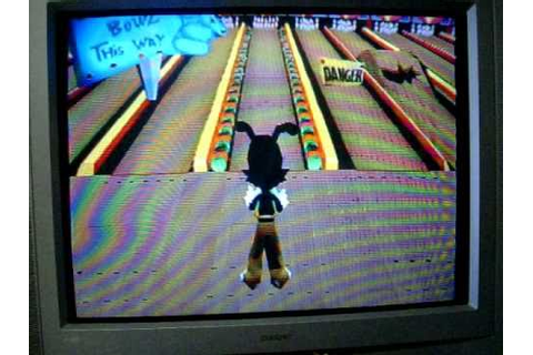 Playstation Animaniacs Ten Pin Alley Game 1 Part 2 - YouTube