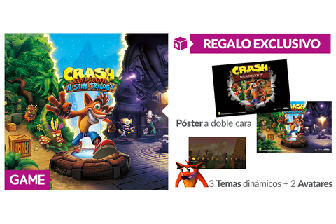 Crash Bandicoot N. Sane Trilogy - Regalo de reserva en ...