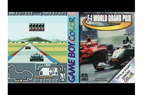 F1 World Grand Prix (Game Boy Color) Review [HD] - YouTube