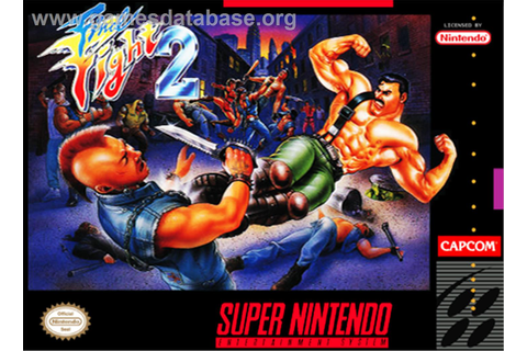 Final Fight 2 - Nintendo SNES - Games Database