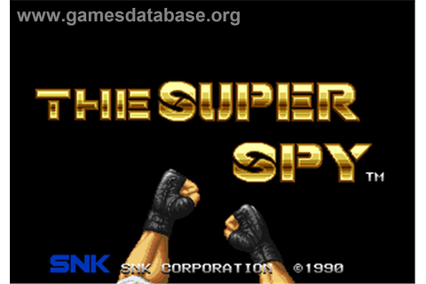 The Super Spy - Arcade - Games Database