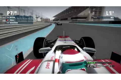 F1 2009 The Game (Mod) - Jarno Trulli @ Abu Dhabi - YouTube